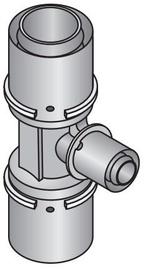 Kolmik Uponor Unipipe pressliide 20x16x20mm
