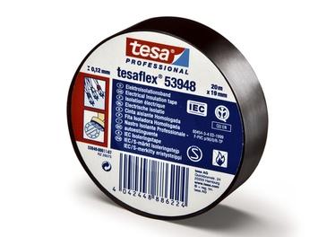Isoleerteip Tesa Tesaflex® 53948, PVC, 20m x 19mm, IEC, roheline / kollane