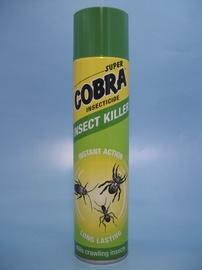Aerosols rāpojošo insektu iznīcināšanai Supercobra 400ml
