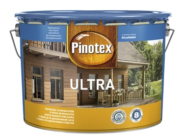 Koksnes aizsarglīdzeklis Pinotex Ultra EU 10L, oregons