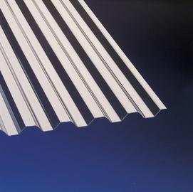 Laineplaat Gutta PVC trapets, 0,9x2 m, pronks