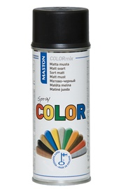 Aerosoolvärv Color, must matt, 400ml