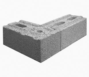 Bloks Fibo Plus 250x195x495mm, 64 gab./pal.