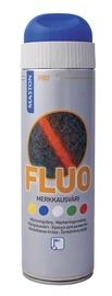 Aerosola krāsa marķēšanai Maston Fluo 500ml, zila