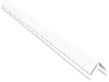 Ārējais stūris PVC B1 3m, balts