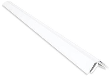 Iekšējais stūris PVC B5 3m, balts