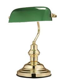 Lauavalgusti Globo Antique roheline 60W
