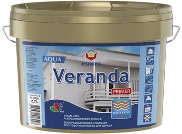 Kruntvärv Veranda Primer Aqua, valge (A) 2,7L