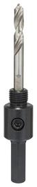 Caurumzāģa adapteris Bosch 14-30mm, ar urbi