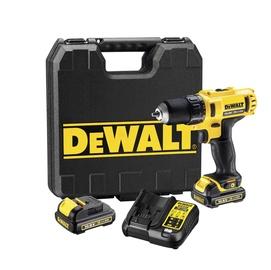 Akutrell DeWalt DCD710C2-QW 10,8V 2x1,3Ah Li-ion