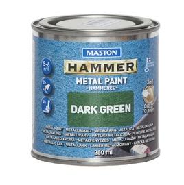 Krāsa metālam Maston Hammer Hammered 250ml, brūna