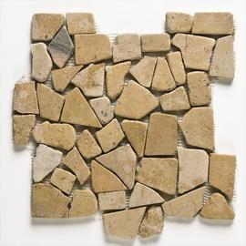 Naturaalkivimite mosaiik Travertin, 305x305x10 cm, marmor