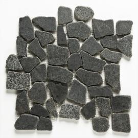 Naturaalkivimite mosaiik Dark Grey 305x305x10, marmor
