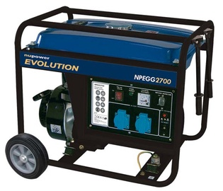 Generaator NuPower NPEGG2700, 3kW, 208cm³
