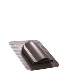 Ventilācijas izvads Wirplast Simple 468x390mm, brūns