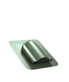 Ventilācijas izvads Wirplast Simple 468x390mm, zaļš