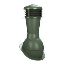 Ventilācijas izvads Wirplast Normal, neizolēts, zaļš