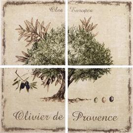 Flīzes dekors Kerama Marazzi Provence 19,8x19,8cm, 4 gab.