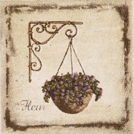 Flīzes dekors Kerama Marazzi Provence Flower Pot 9,9x9,9cm