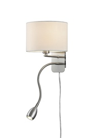 Sienas lampa Trio 40W E14 + LED 3W, balta