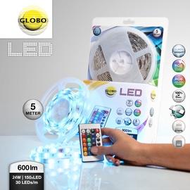 LED lente Globo 150xLED RGB, 5m
