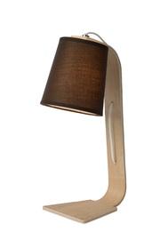 Galda lampa Lucide Nordic 18W 48cm, brūna