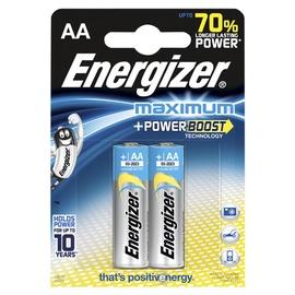 Baterijas Energizer Maximum AA, 1,5V, 2gab.