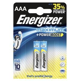 Baterijas Energizer Maximum AAA, 1,5V, 2gab.