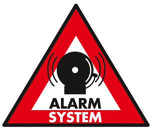 Kleebis Alarm ST-AS