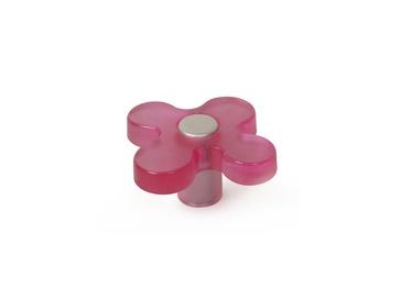 Mööblinupp 121, 49mm, roosa, 6tk