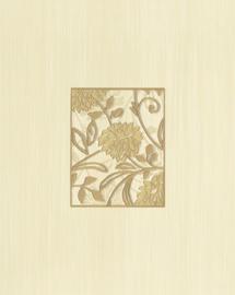 Flīzes dekors Cersanit Farina Beige Flower 20x25cm
