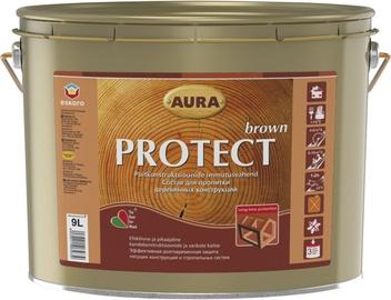 Puidukaitsevahend Protect Brown, pruun, 9,0L