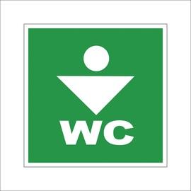 OHUTUSMÄRK WC FOR MEN 10X10