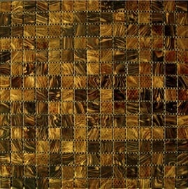 Klaasmosaiik Mocca 2x2cm