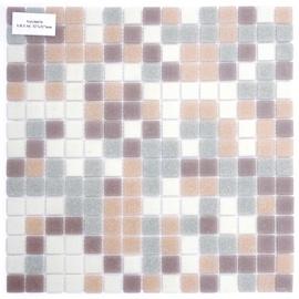 Klaasmosaiik 2x2cm LW/LGR2/LPU1/LP1, lilla
