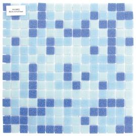 Klaasmosaiik 2x2cm LB1/LB2/LB5, sinine