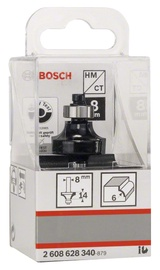 Freesitera Bosch, 6 mm HM 2-poolne