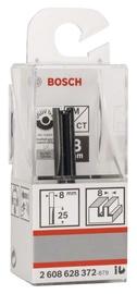 Pirkstfrēze Bosch HM Ø8mm, 8x25mm