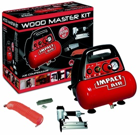 Kompressor Mecafer Woodmaster Kit 6L