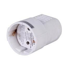 Kontaktligzda ar zemējumu Duwi 1P 250V 16A, balta