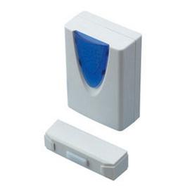 Tālvadības zvana poga Duwi 30m IP44, balts/zils