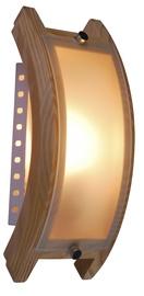 Sienas lampa Globo Admiral 40W E14, brūna