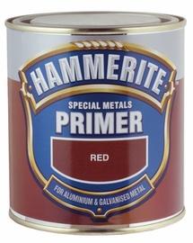 Metallikruntvärv erimetallidele Hammerite, punane 0,5L