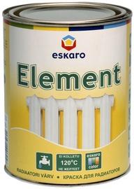 Radiaatorivärv Element, poolmatt, valge (A) 0,9L