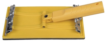 Slīpdēlis ar lokanu rokturi Hardy 210x105mm
