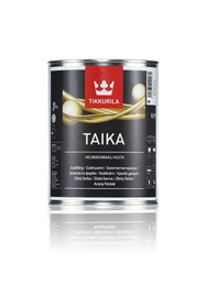 Dekoratīva krāsa Tikkurila Taika KM 0,9L, zelta