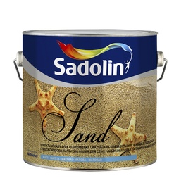 Struktuurvärv Soft Sand, valge 2,5L