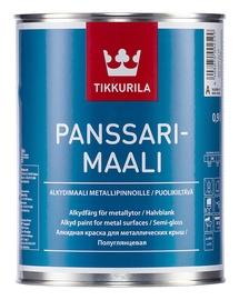 Plekk-katusevärv Panssarimaali, valge (A) 0,9L