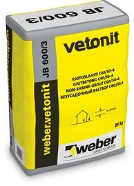 Jootebetoon Weber Vetonit JB 600/3 25kg