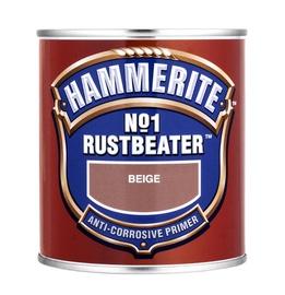 Metallikruntvärv Hammerite No.1 Rustbeater, beež 0,5L